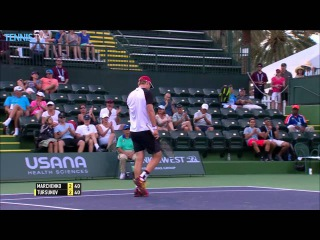 Tursunov Digs Out Hot Shot In Indian Wells 2016