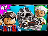 Lego Back to the Future DELOREAN TIME MACHINE 21103 Stop Motion Set Review