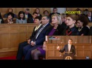 Нидерланды. Реклама шоколада Рошен перед выступлением Порошенко (27.11.2015 г.)