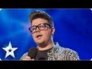 Alex Keirl singing 'Bring Him Home'   Week 4 Auditions   Britain's Got Talent 2013