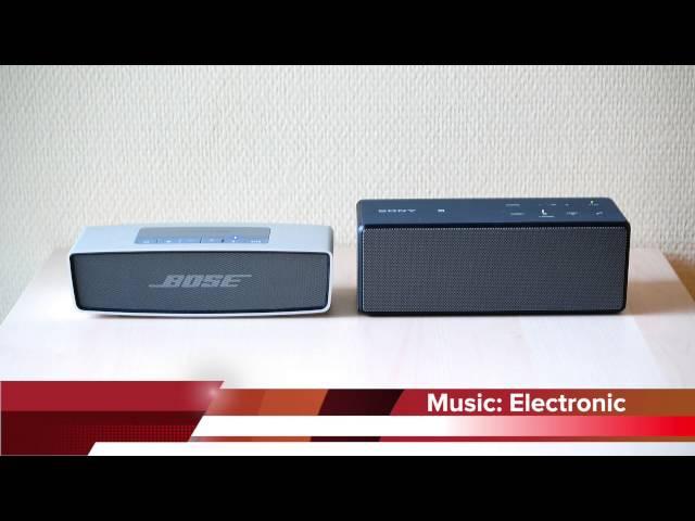 Bose SoundLink Mini vs Sony SRS-X3