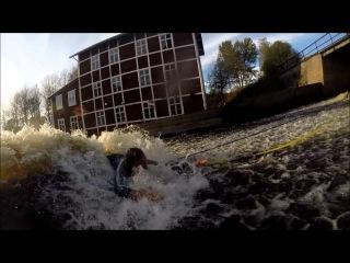 Homemade surf wave