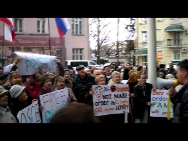 Из Крыма выгоняют наблюдателей ОБСЕ Симферополь 05 03 14
