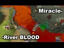 Miracle- Kunkka vs SingSing Tiny & BLOOD River Wars Dota 2