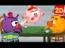 Смешарики 2D - Несколько мелочей на фоне природы Прикольные мультики для детей