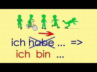 Deutsch lernen Grammatik 5: ich bin gefahren ... Verben Vergangenheit