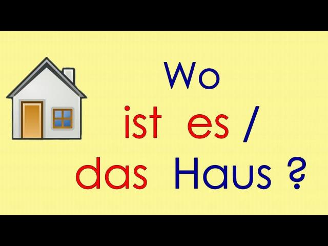 Deutsch lernen Grammatik 1 ich bin du bist