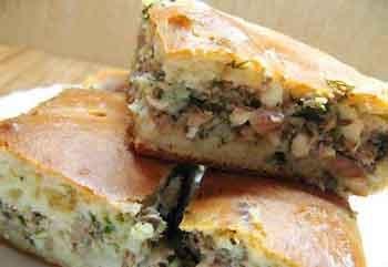 Заливной пирог с рыбой в мультиварке рецепт с фото