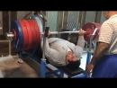 Рахман Сиаманд(Иран) жмёт 270 кг на 3 повтора без экипировки! дорога к Рио !