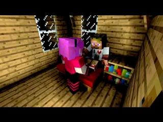 Диллерон и Миникотик. Minecraft Мультики (Приколы Майнкрафт Анимация)