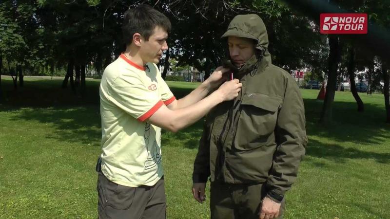 Одежда для рыбалки. Куртка novatour Риф. Обзор.