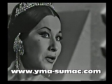 YMA SUMAC in Hollywood, 1964 Перу. США.