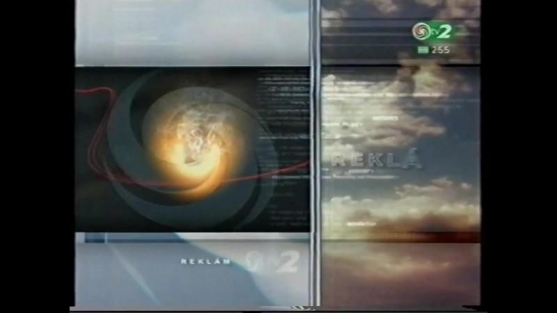 Прогноз погоды, анонсы, реклама (TV2 [Венгрия], 2002) Gillete, Schlossgold, Pannon, Vilmos