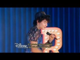 Soy luna - Ramiro canta Cuando bailo (Id Be Crazy otra versión) (Presentación) (HD) Capitulo 5