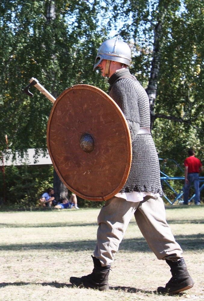 2010 год: Реконструкция скандинавского воина 9-10 вв.