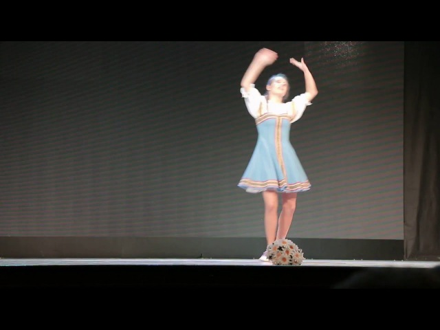 Русский народный танец - Ромашка, ромашка цветок полевой