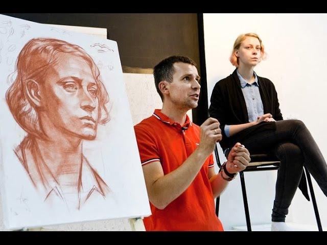 Александр Рыжкин об этапах рисования. Четвертая часть, о портрете