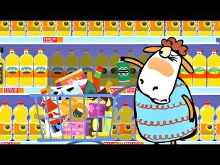 Смешной мультик - Овечки Холли и Долли - Холли и Долли в супермаркете (1 сезон | сер...