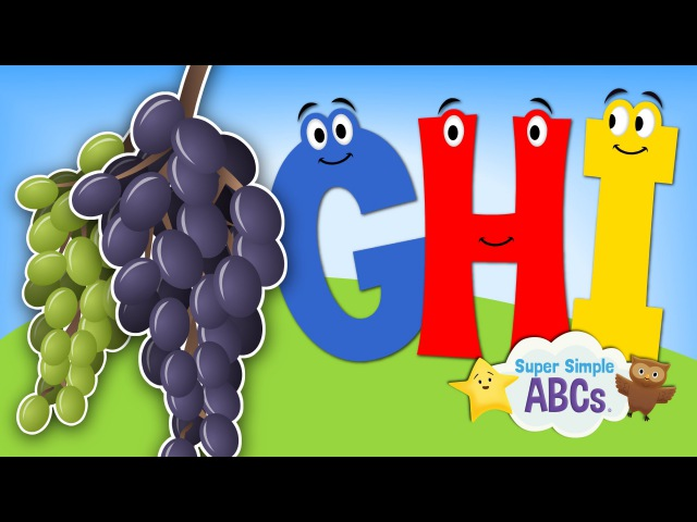The Sounds of the Alphabet | G-H-I | Super Simple ABCs