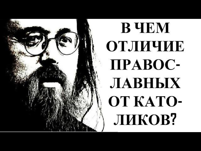 Андрей Кураев - Католики - единства не будет!