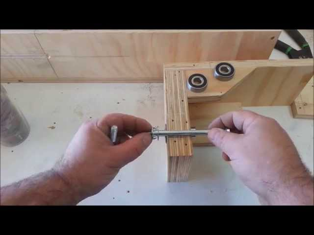 Homemade lathe, tenoning machine and more