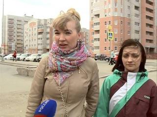 В Вологде жители не позволили строителям начать работы на зеленом участке