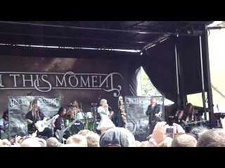 "In This Moment - ""The Promise w/ Adrian Patrick of Otherwise (Live @ PNC Bank Arts Center)"" 7/28/10"
