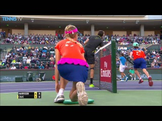 Cilic Digs Out Hot Shot In Indian Wells 2016