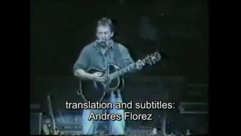 Bruce springteen - born to run - acoustic (subtitulos en español)