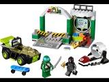 Черепашки ниндзя. Лего Логово черепашек 10669 и Пожарная охрана 60106. Lego City 60106_LEGO Juniors