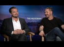 Leonardo DiCaprio Tom Hardy On The Making Of 'The Revenant' Access Hollywood