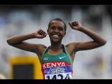 Faith Chepng'tich Kipyegon wins 1500m Women's HD Diamond League Eugene 2016