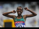 Faith Chepng'tich Kipyegon wins 1500m Women's HD Diamond League Eugene 2016