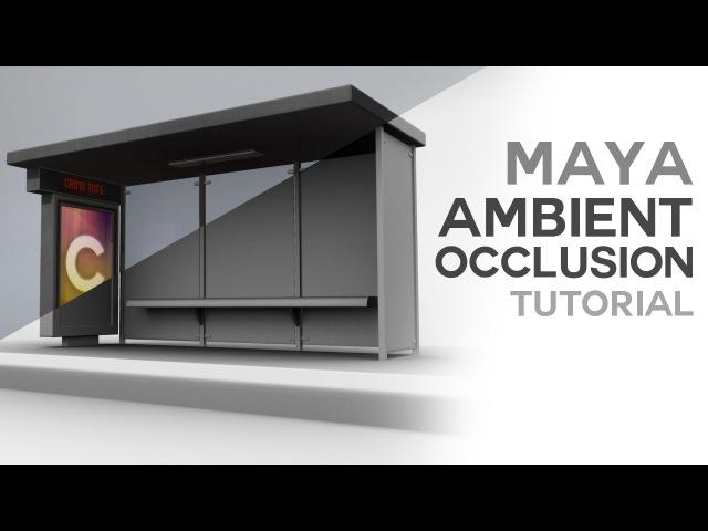 Maya Ambient Occlusion Tutorial