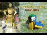ЛЕГО БЕСПЛАТНО. Акция Собери и Забери попугая 40131 / LEGO FOR FREE. Collect parrot 40131