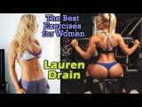 LAUREN DRAIN - Fitness Model: Ejercicios para Perder Peso y Tonificar el Cuerpo Femenino @ USA