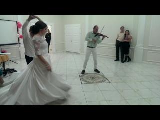 Denis Lonso. Электроскрипка на свадьбе. Loreen Euphoria.