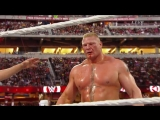 Brock Lesnar vs Roman Reigns [Wrestlemania 31] - WWE Империя Реслинга
