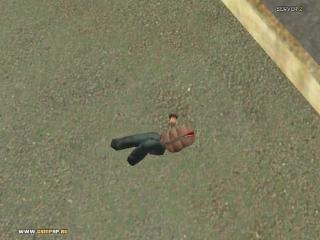 гта криминальная россия -  человек без головы