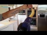 Простая хитрость, как освежить почерневший банан.