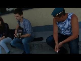 Секс и рок-н-ролл. Девушка классно поет. Владивосток.