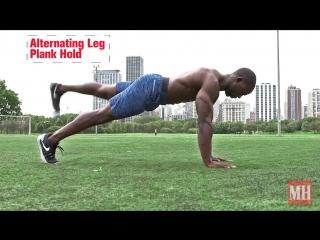 22 вида упражнения планка