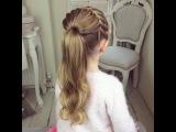 The Half Starburst Braid by SweetHearts Hair