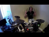 Adele - Set Fire To The Rain (Rock Cover by Our Waking Hour) + My drum Cover