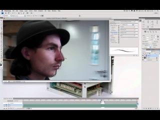 Making Rotoscope Animation using Photoshop