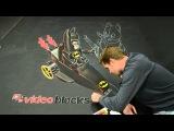 Awesome Lego Batman 3D Art! - AWE ME ARTIST SERIES