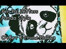 Mail ♥ Письмо в стиле Панда ♥ Snail mail ♥ Pen pal letters ♥ Panda style