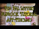 Mail ♥ Flipbook ♥ Pen Pal Letter Tutorial ♥ Mail art ♥ Скрап письмо ♥ Арт письмо