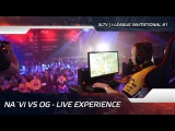 Na`Vi vs OG - Live experience @ Starladder | i-League Invitational #1