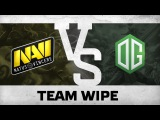 Watch first: Team wipe! by Na`Vi vs OG @ Starladder | i-League Invitational #1